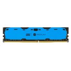 DIMM DDR4 8GB 2400MHz CL15 GOODRAM IRDM, blue