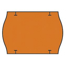 cenovkové etikety 26x18 STAR PRIX - oranžové (pre etiketovacie kliešte) 1.000 ks/rol.