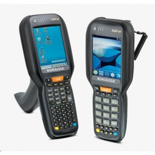 Datalogic Falcon X4, 1D, imager, BT, Wi-Fi, alpha, Gun, WEC 7