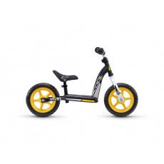 S'COOL Detské odrážadlo pedeX easy 10 čierno/žlté