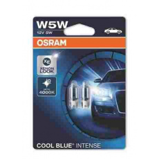 OSRAM autožárovka W5W COOL BLUE INTENSE NG 12V 5W W2.1x9.5d (Blistr 2ks)