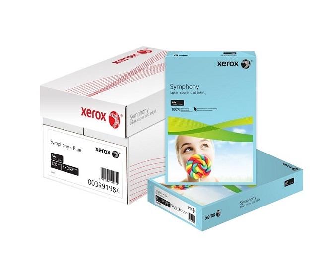 Xerox barevný papír (Tmavě Žlutá, 160g/250 listů, A4)