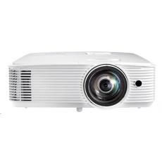 Optoma projektor X309ST (DLP, FULL 3D, XGA, 3 700 ANSI, HDMI, VGA, RS232, 10W speaker), posk obal