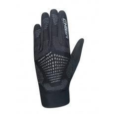 Chiba Cyklistické rukavice pre dospelých Superlight čierne