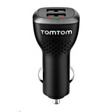 TomTom vysokorychlostní duální nabíječka do auta (2x USB)