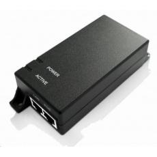 MaxLink PI30 aktivní PoE injektor, 802.3af/at, 30W (PoE+), napájecí kabel