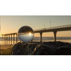 Larmor křišťálová fotografická koule, 60 mm