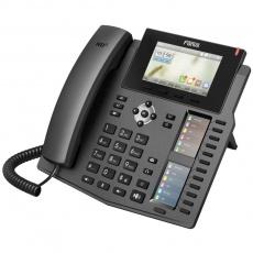 "Fanvil IP telefon X6, 6 SIP, 4,3"" LCD, 10/100/1000 Mbps, PoE"