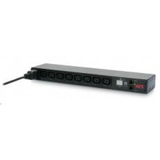 APC Rack PDU, Switched, 1U, 16A, 208/230V, (8)C13, IEC-320 C20 2.5 m