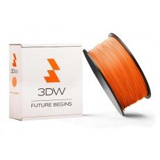 3DW - ABS filament pre 3D tlačiarne, priemer struny 1,75mm, farba oranžová, váha 1kg, teplota tisku 220-250°C