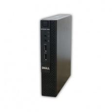 Počítač Dell OptiPlex 3020 micro Intel Pentium G3250T 2,8 GHz, 4 GB RAM, 128 GB SSD, Intel HD, COA štítok Windows 7 PRO