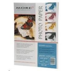 Fotopapier MORE pre ink-jet Inspiration 145g/m2, glossy,jednostranný lesklý, A4, 20 listov