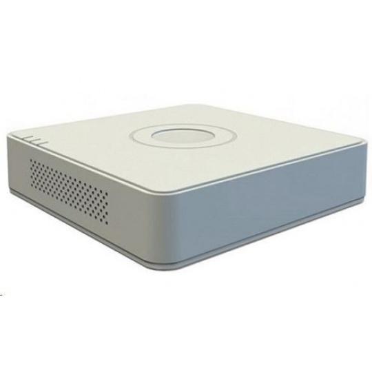 HIKVISION NVR, 4 kanály, PoE (36W), 1x HDD (až 6TB), FHD, 2xUSB, 1xHDMI a 1xVGA