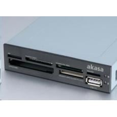 """AKASA čtečka karet AK-ICR-07 do 3.5"""", 6-slotová, interní, 1x USB 2.0"""