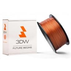 3DW - PLA  filament pre 3D tlačiarne, priemer struny 1,75mm, farba měděná, váha 1kg, teplota tisku 190-210°C