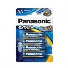 PANASONIC Alkalické baterie EVOLTA Platinum LR6EGE/4BP AA 1,5V (Blistr 4ks)
