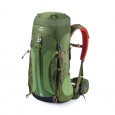 Naturehike trekový batoh Hiking 55+5l - zelený