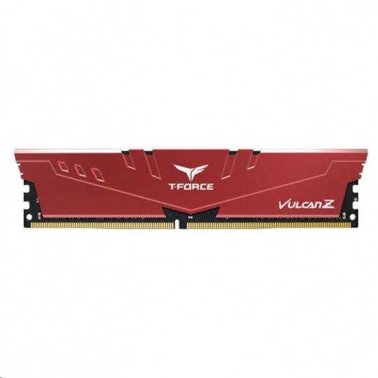 DIMM DDR4 32GB 2666MHz, CL18, (KIT 2x16GB), T-FORCE VULCAN Z, Red
