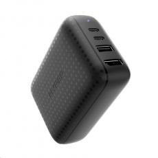 HyperDrive 60W USB-C Power Hub – GaN nabíjecí adaptér a HDMI hub, černá