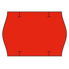 cenovkové etikety 26x18 STAR PRIX - červené (pre etiketovacie kliešte) 1.000 ks/rol.
