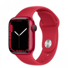Apple Watch Series 7, 41mm (P)RED/(P)RED SportBand