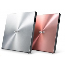 ASUS DVD SDRW-08U5S-U/PINK/G/AS, External Slim DVD-RW, pink, USB + Cyberlink Power2Go 8