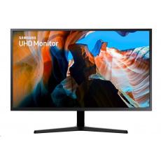 """BAZAR - SAMSUNG MT LED LCD 32"""" U32J590 - plochý, VA, 3840x2160, HDMI, DisplayPort, 4ms - poškozený obal"""