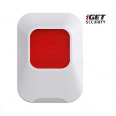 iGET SECURITY EP24 - Bezdrátová vnitří siréna pro alarm iGET SECURITY M5