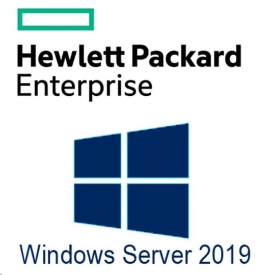 HPE Microsoft Windows Server 2019 Standard Edition Additional License 2 Core (EnCzGerSpFrIt)