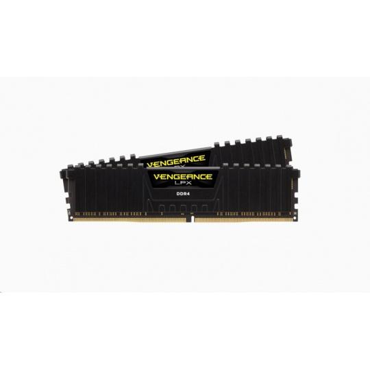 CORSAIR DDR4 16GB (Kit 2x8GB) Vengeance LPX DIMM 4333MHz CL19 černá