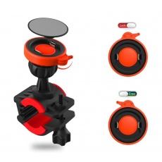 RhinoTech držák mobilního telefonu na kolo oranžová / černá