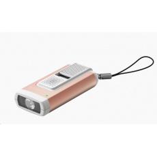 LEDLENSER svítilna s osobním alarmem K6R SAFETY ROSE GOLD - Box