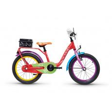 S'COOL  Detský bicykel niXe chalk 16 farebný (od 105 cm)