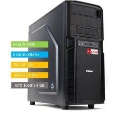 ABCOM MI5010 i5-9600, 8GB RAM 240 GB SSD + 1 TB, GTX1050Ti 4GB