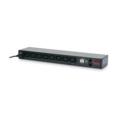 APC Rack PDU, Switched, 1U, 12A/208V, 10A/230V, (8)C13, IEC-320 C14 1.98m