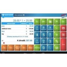 SW prodejní program EET-POS pro Android - plná verze bez poplatků