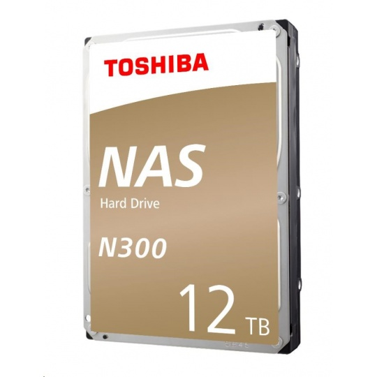 "TOSHIBA HDD N300 NAS 12TB, SATA III, 7200 rpm, 256MB cache, 3,5"", RETAIL"