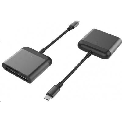 HYPER USB-C Pro Card Reader (CF, SD, microSD)