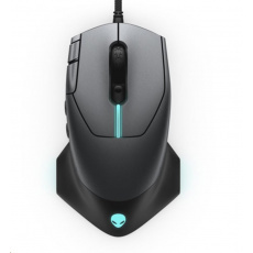 DELL Alienware 610M Wired / Wireless  Gaming Mouse - AW610M (Dark Side of the Moon)