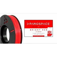 FILAMENT Panospace type: PLA -- 1,75mm, 326 gram per roll - Červená