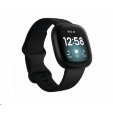 Fitbit Versa 3 - Black/Black Aluminum