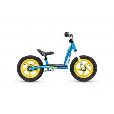 S'COOL Detské odrážadlo pedeX easy 12 modro/žlté