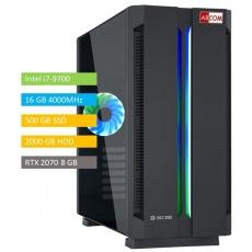 ABCOM GI7050 i7-9700, 16 GB RAM, 500GB SSD + 2TB, RTX2070 8GB