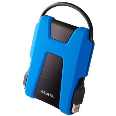 """ADATA Externí HDD 2TB 2,5"""" USB 3.1 AHD680, modrý (gumový, nárazu odolný)"""