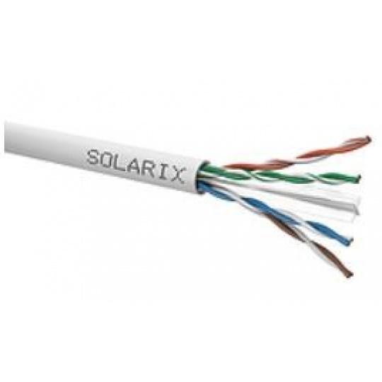 Instalační kabel Solarix UTP, Cat6, drát, PVC, cívka 500m SXKD-6-UTP-PVC