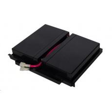 CyberPower náhradní baterie (12V/9Ah, 4ks v SETu), pro PR1500ERT2U. PR2000ERT2U, PR3000ERT2U, PR1500ERTXL2U, PR2000ERTXL