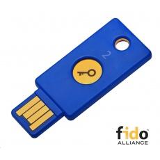 Security Key - USB-A, podporující vícefaktorovou autentizaci, podpora FIDO U2F, voděodolný