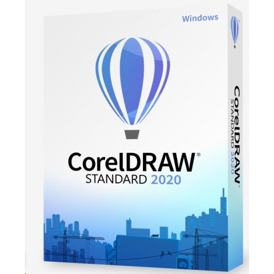 CorelDraw Standard 2020 Education License (100+) EN/DE/FR/IT/ES/BR/NL/CZ/PL/RU