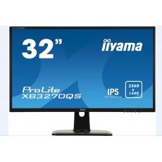 Iiyama monitor ProLite XB3270QS-B1, 80cm (31,5''), DVI, HDMI, black
