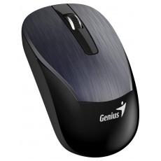GENIUS myš GENIUS ECO-8015/ 1600 dpi/ dobíjecí/ bezdrátová/ kovově šedá